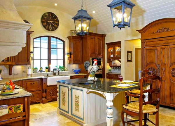 Tuscan Kitchen Island Ideas