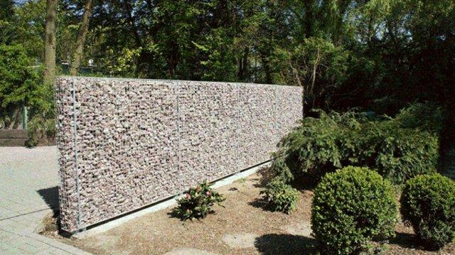 Mur En Gabion Sez Lintgrer Dans Votre Propre Jardin