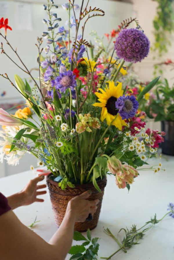 Centre De Table Mariage Fleurs Quelques Ides Inspirantes