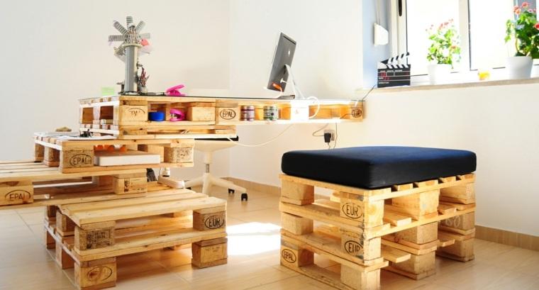 mobilier en palettes en 81 idees tres