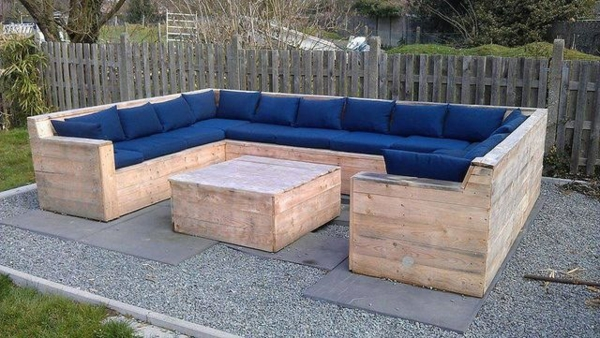 Diy outdoor bench instructions. diy pallet swing plans chair bed ...