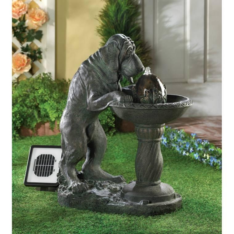 Fontaine Solaire De Jardin Un Choix Sage Et Colo