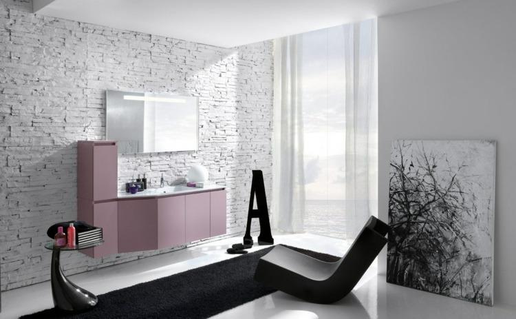 Salle De Bain Noir Et Blanc Une Piece Elegante Et Moderne