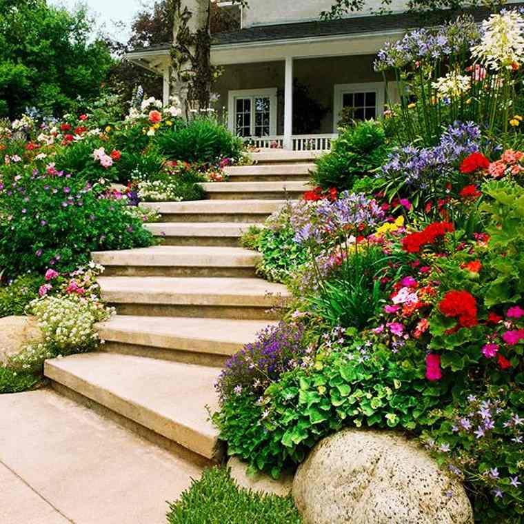 jardin en pente 33 idees d