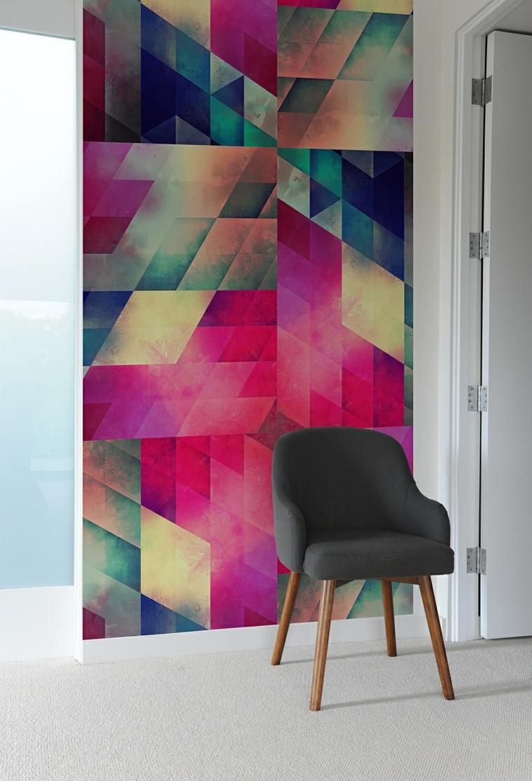 carrelage motif geometrie et design