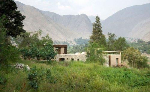 matériaux verts construction maison écolo pierre pérou idée