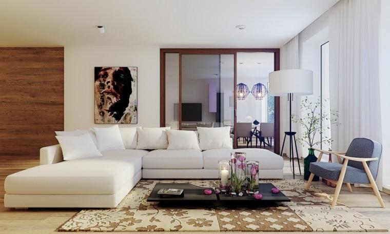 comment decorer sa maison exemple d amenagement de salon en couleurs claires