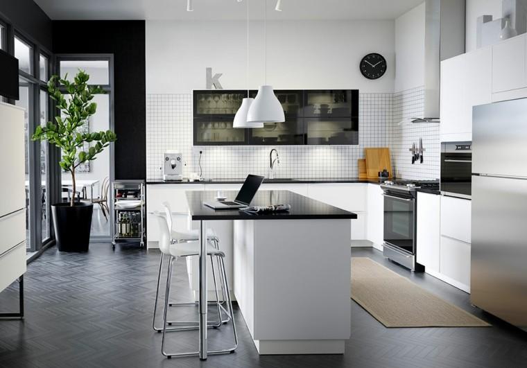 cuisine lot central ide dco plante pot de fleurs - Cuisine Beige Ikea