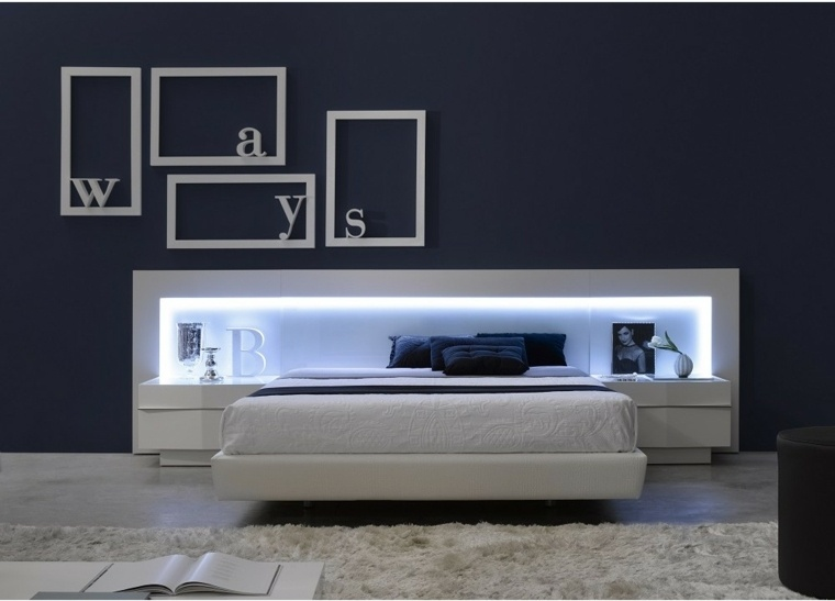 tete de lit lumineuse pour un eclairage