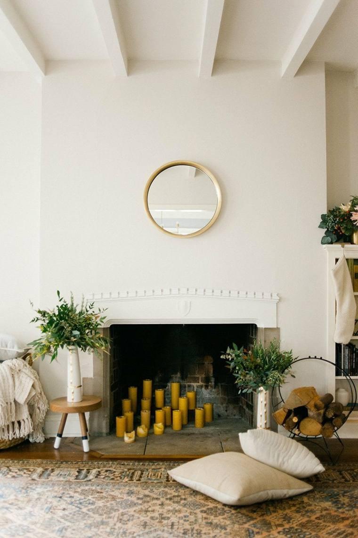 miroir cheminee un beau decor cheminee