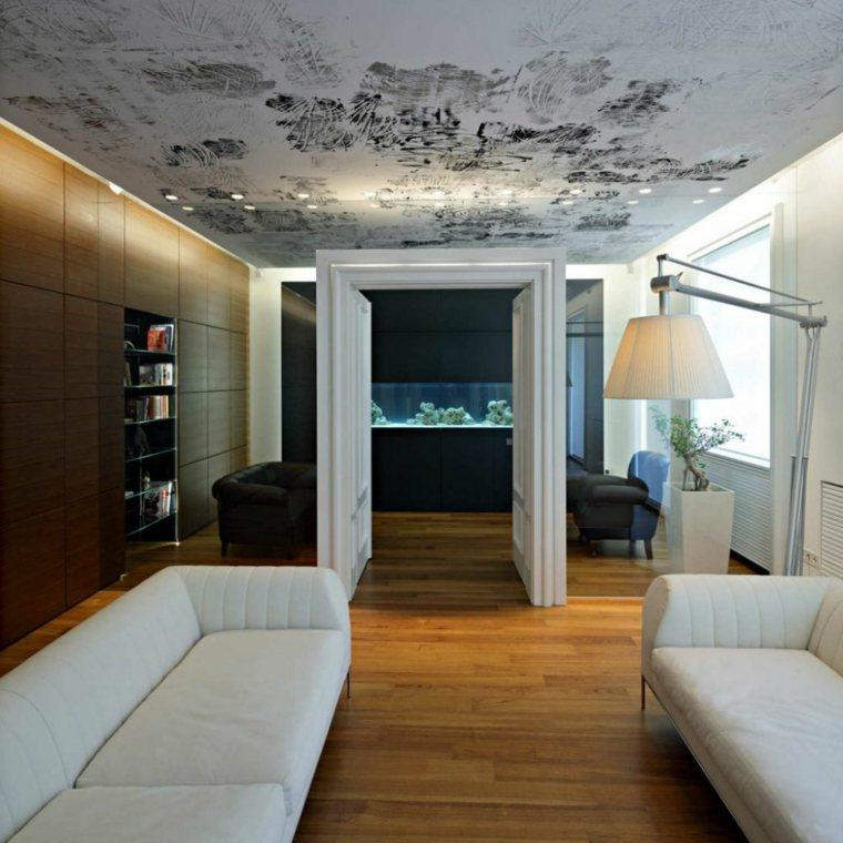 Plafond Design En 33 Ides Intressantes Et Inspirantes