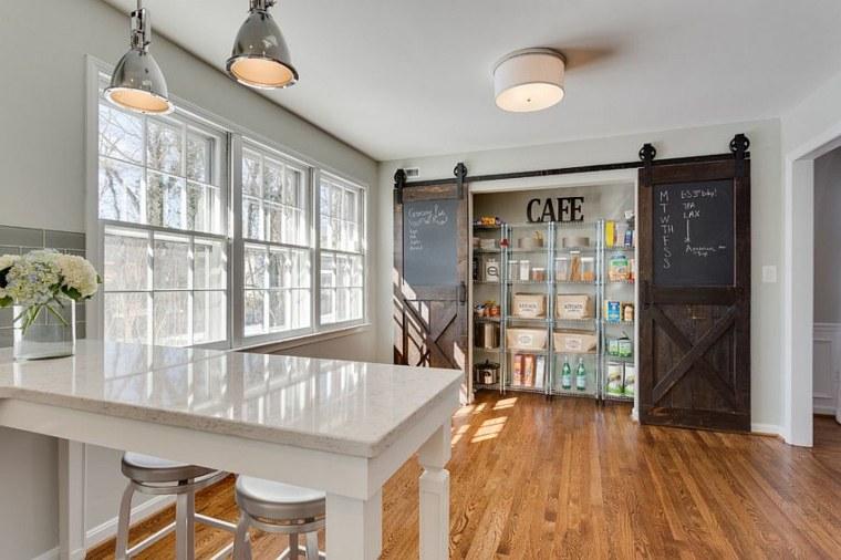 Porte Coulissante Cuisine En 25 Idées Sympatiques