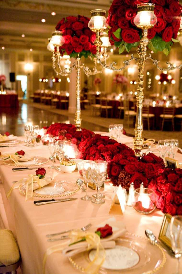 Unique Table Decorations Wedding Receptions