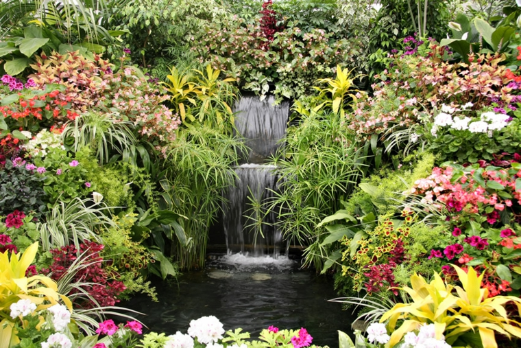 Landscaping Around Small Pond
