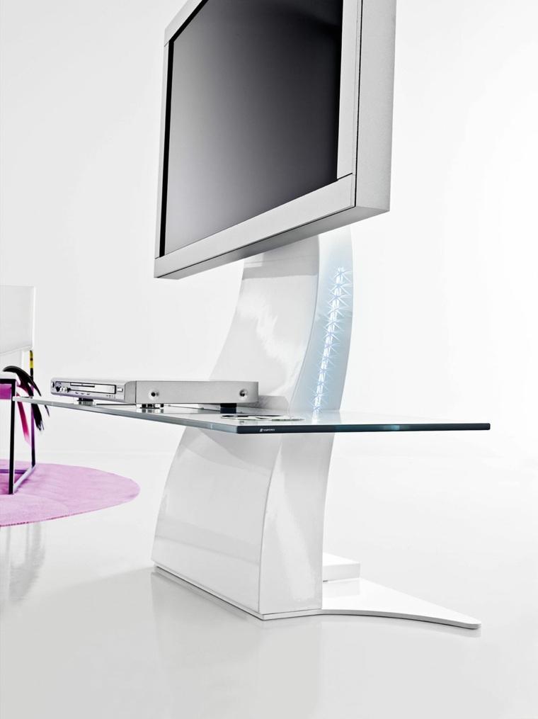 meuble d angle tv de style contemporain