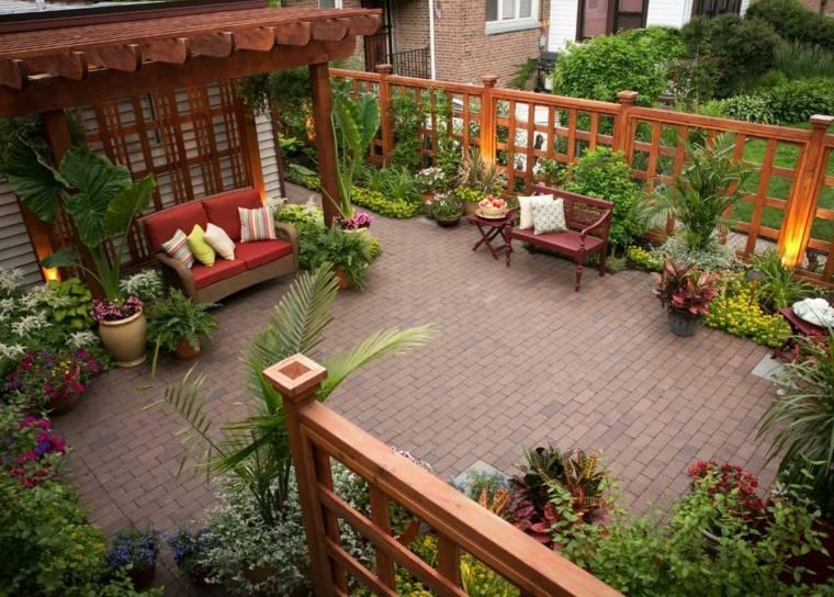 cloture de jardin originale en