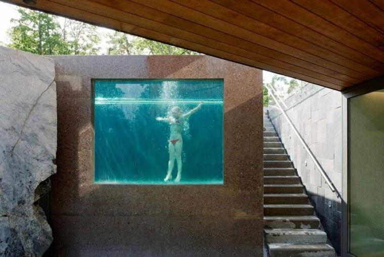 piscine en verre en plus de 10 exemples