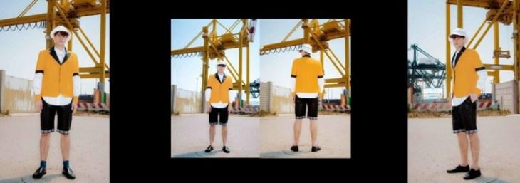 homme mode tendance 2016 idée veste jaune moderne