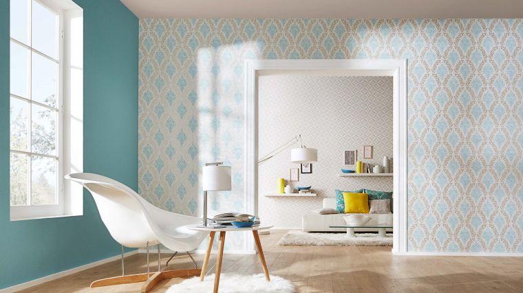 Papier Peint Tendance 50 Ides Pour Une Maison Moderne