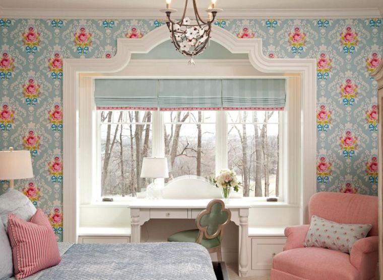 Petite Chambre Coucher Deco Papiers Peints With Chambre