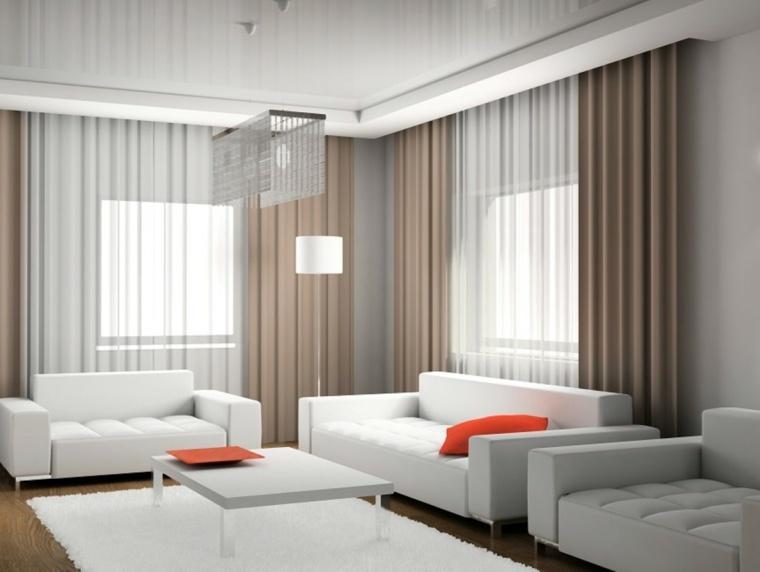 doubles rideaux idees modernes pour