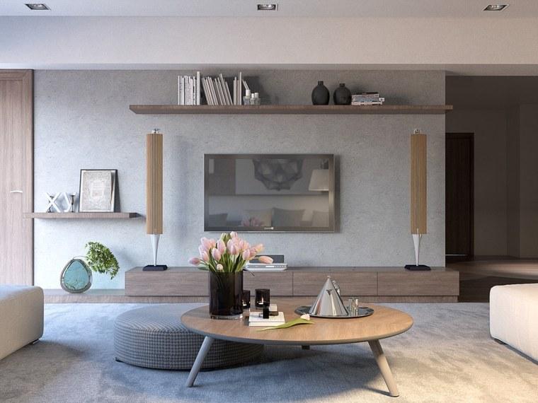 salon moderne trente exemples d