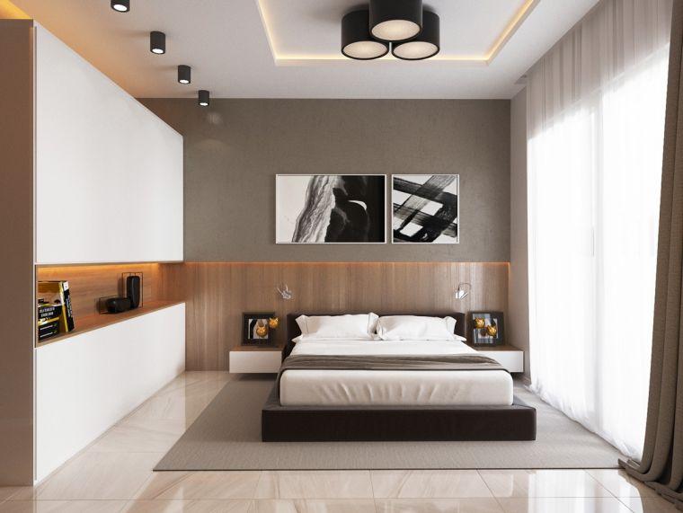 chambre de luxe etagere rangement