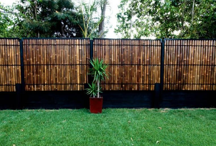 idee cloture jardin pour un exterieur