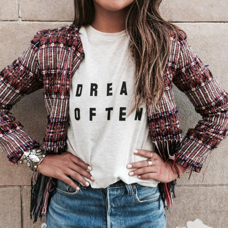 veste printemps femme idée tendance moderne jeans