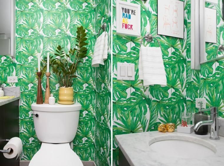 Papier Peint Pour Salle De Bains Une Slection Originale