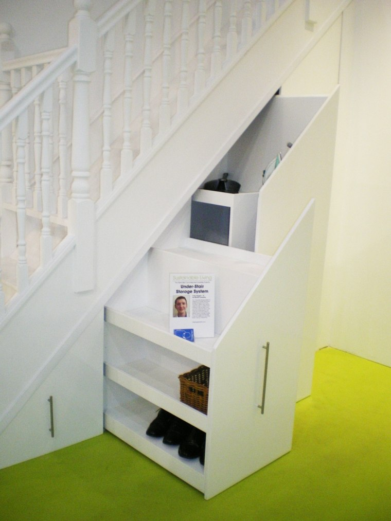 Amnagement Placard Sous Escalier 24 Ides Astucieuses