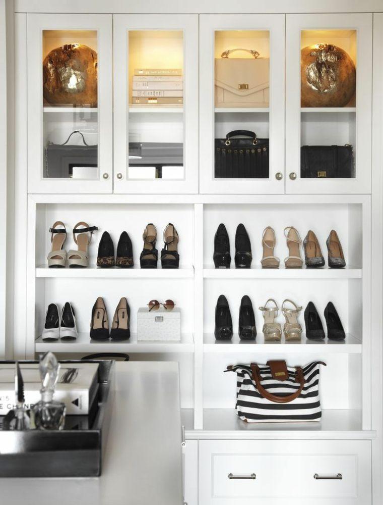 rangement chaussures petit meuble sac