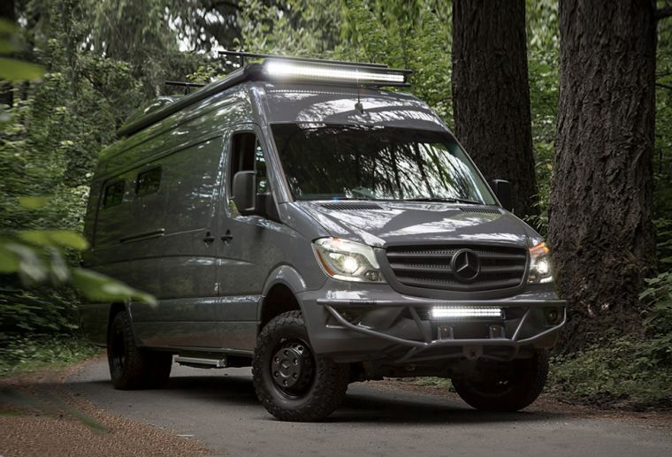 camping car van idee mercedes sprinter