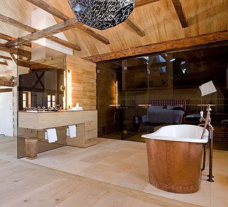 Salle De Bain Chalet De Montagne Dco Luxueuse Et Raffine