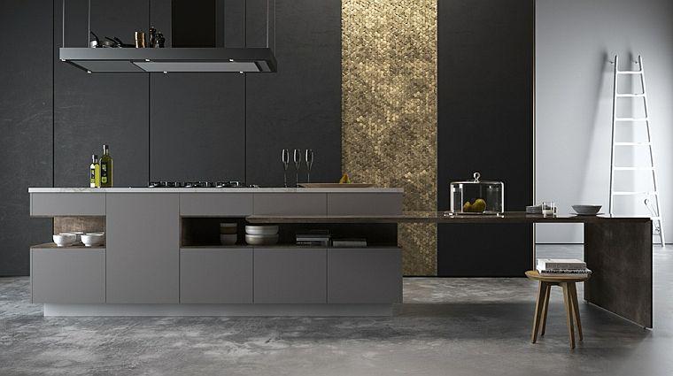 modele de cuisine noire 35 espaces