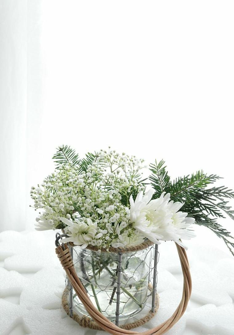 Composition Florale Nol Pour Dco De Table Et De Lextrieur
