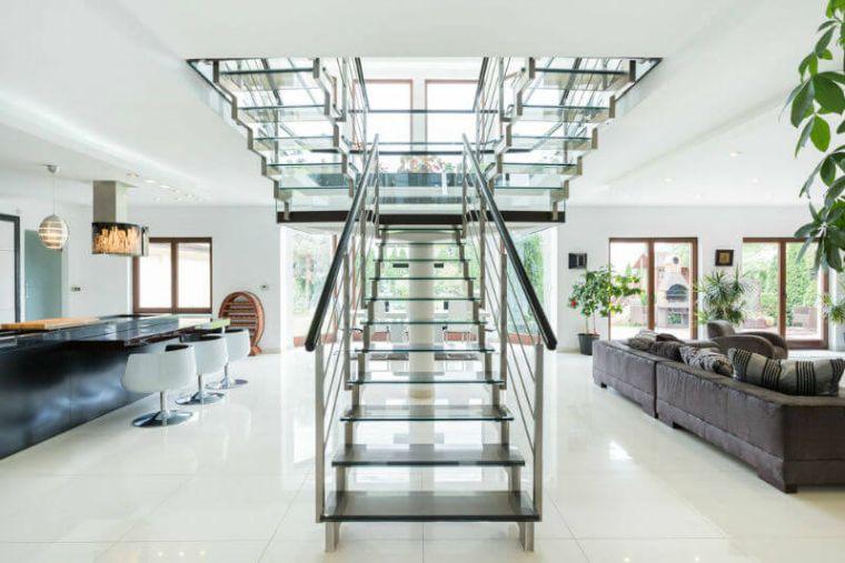 Rampe Descalier Et Main Courante Moderne Pour Lintrieur