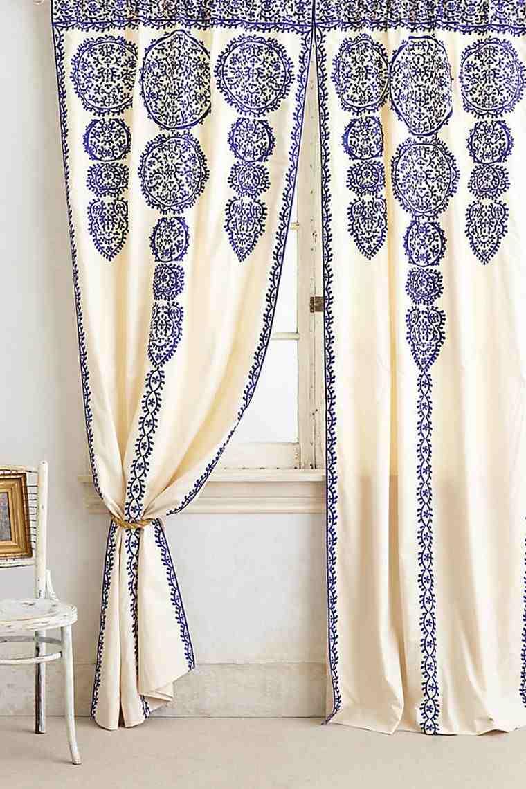 rideau exotique pour un decor boho chic