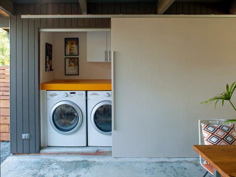 Cache Machine A Laver Et Seche Linge 24 Idees Astucieuses