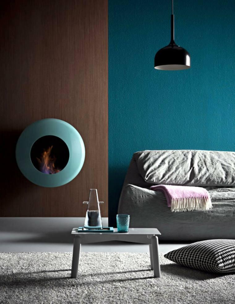 salon bleu petrole bleu canard et bleu