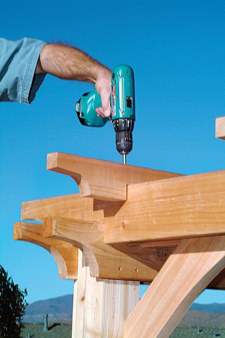 Comment Construire Une Pergola En Bois Pour D 233 Corer Sa