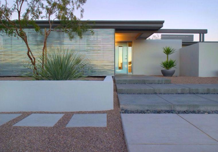Idee Amenagement Jardin Devant Maison Moderne Chic Et Fonctionnel