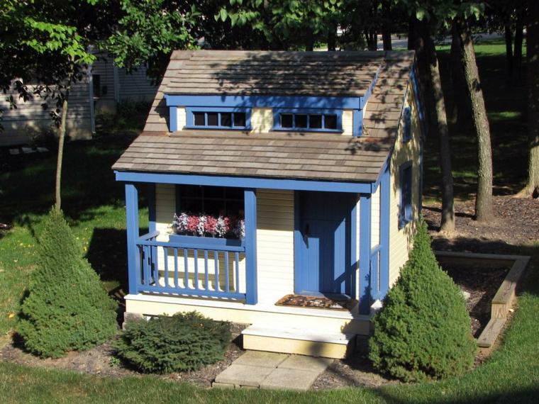 cabane de jardin enfant en 50 projets a