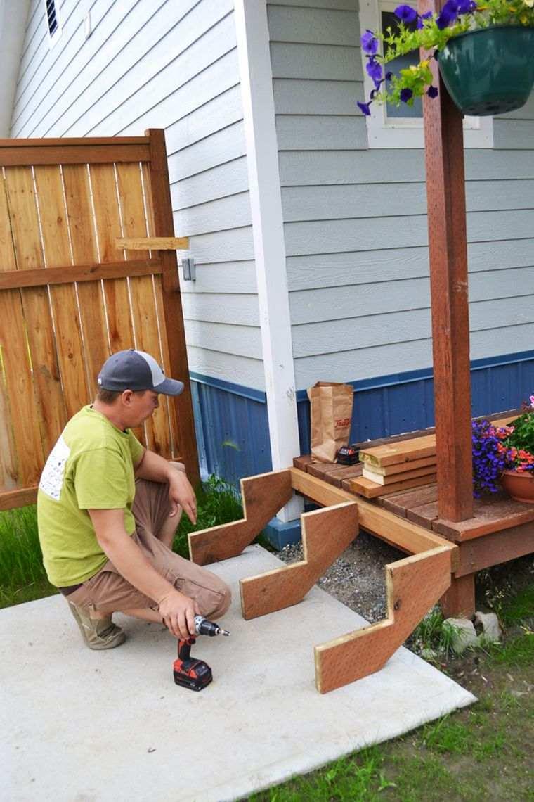 Fabriquer Un Escalier En Bois Interieur Ou Exterieur Fiche Infos Pratiques