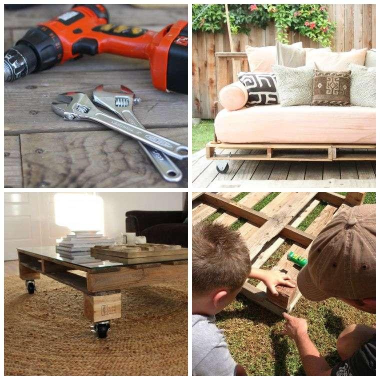 Fabriquer Un Salon De Jardin Avec Des Palettes - Moston.top