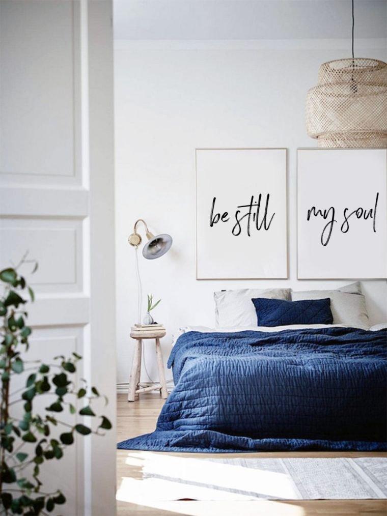 deco minimaliste pour la chambre adulte