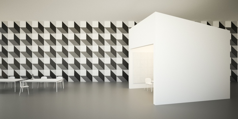 Illusion D Optique Carrelage De Sol Et De Mur Dans Des