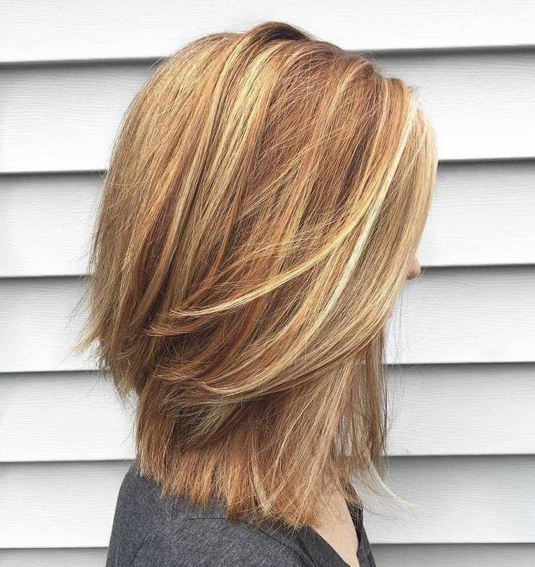 modele coiffure femme mi long degrade
