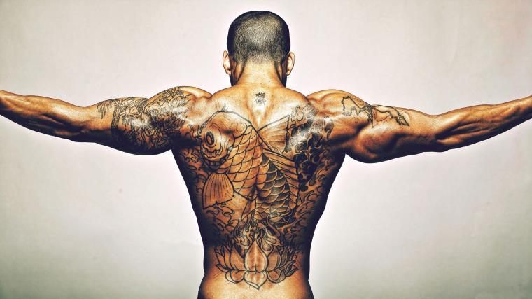tatouage homme idee modele tattoo dos
