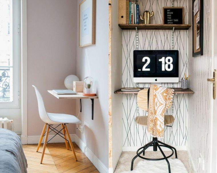le bureau mural un meuble qui prend